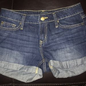 Gap navy blue jean shorts